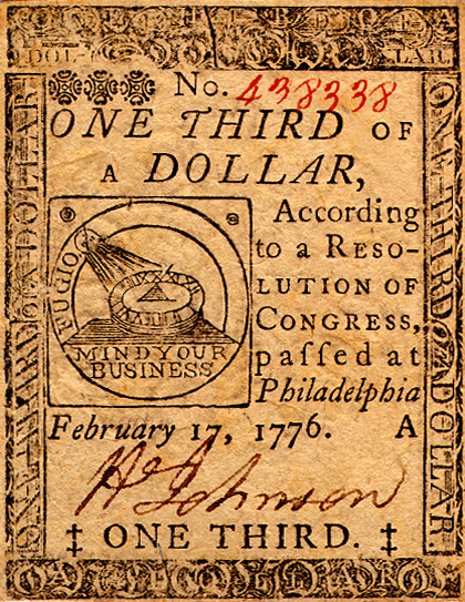 Continental_Currency_One-Third-Dollar_17-Feb-76_obv