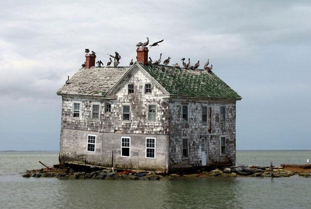 Chesapeake Bay negli Stati Uniti - i posti abbandonati più belli del mondo
