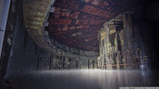 Una fabbrica di razzi in Russia - i posti abbandonati più belli del mondo