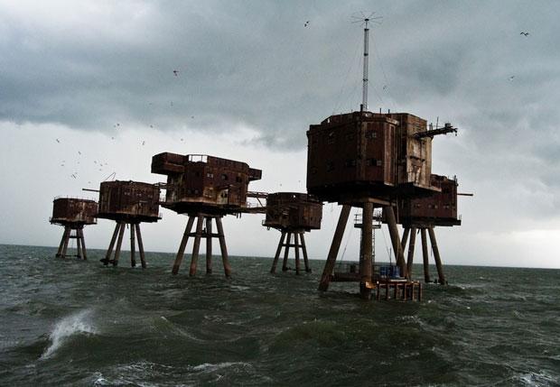 I forti del mare Maunsell in Inghilterra - i posti abbandonati più belli del mondo