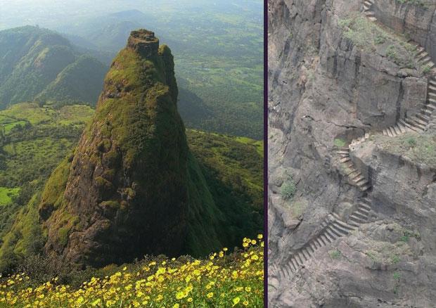 Il Kalavantin Durg in India - i posti abbandonati più belli del mondo