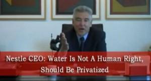 acqua privatizzata nestlè
