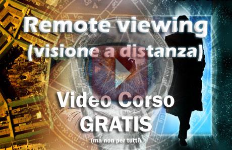 visione a distanza - remote viewing corso