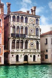 Ca' Dario sul Canal Grande di Venezia