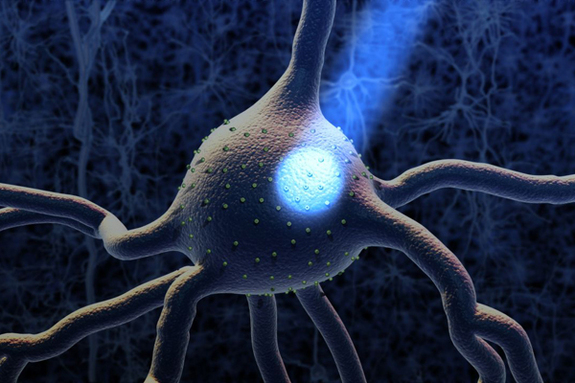 blue-light-neuron